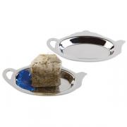 Блюдце для чайных пакетиков 2шт.металл