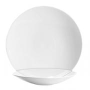 Тарелка без борта «Сублим», фарфор, D=310,H=53мм, белый