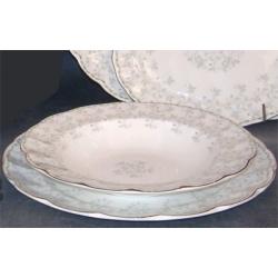 Н 1050011 Джулия ГРИН н-р тарелок 21,5 см  (зол.лента)