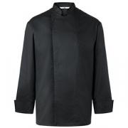 Куртка поварская р. L без пуклей хлопок, полиэстер; черный