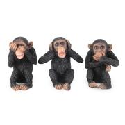 Композиция из 3-х статуэток Три обезьяны