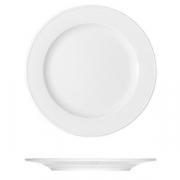 Тарелка мелкая «Бонн»; фарфор; D=20см; белый