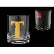 Стакан для виски (1 шт) Азбука Буква «T»