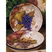 Набор из 4-х тарелок глубоких 23,5см «Кьянти»