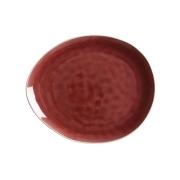 Тарелка овальная Artisan (Гранатовый) без инд.упаковки