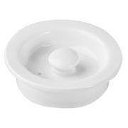 Крышка для чайника «Кунстверк», фарфор, 700мл, D=65мм, белый