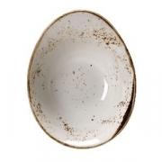 Салатник «Крафт», фарфор, D=18см, белый