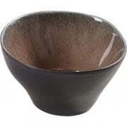 Салатник «Пьюр» D=7.5, H=4.5см; коричнев.