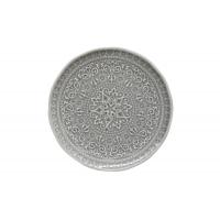 Тарелка закусочная (тём.серый) Abitare без инд.упаковки