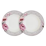 Набор из 2-х суповых тарелок Симфония