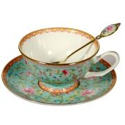 Пара чайная, 2 перс, 6 пр, Роза востока