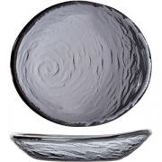 Салатник «Скейп гласс» дымчатый L=12.5см