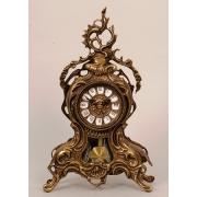 Часы с орлом с маятником цвет - каштан 38х25см