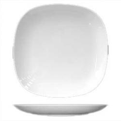 Тарелка квадр «Бива» d=18см