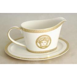 Соусник на блюдце «Versace - gold»