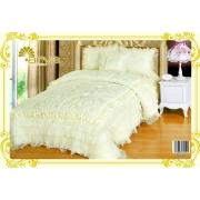 Покрывало Ария Сатин с декор. подушкой NUORA 250х260