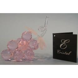 Гроздь винограда розовая. d 30-7 12х11 см