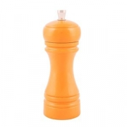 Мельница для соли, бук, H=14см, оранжев.