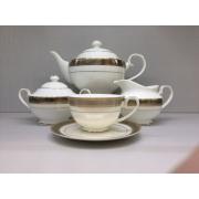 Сервиз чайный «Ромэн» 17 предметов на 6 персон