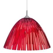 Подвесной светильник «РИД» (REED) Koziol 44 x 44 x 27см (красный)
