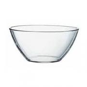 Салатник «Вердюра», стекло, D=16см, прозр.