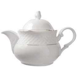 Чайник «Афродита» с зол.1.4л фарфор