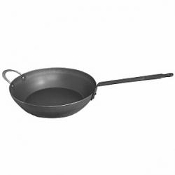 Сковорода d=32см h=9см,2ручки гол. сталь