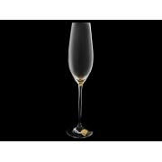 Бокал для шампанского Celebration»Золотая капля на дне»