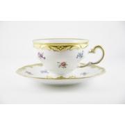 Набор чайный 210 мл. на 6 перс. 12 пред. подарочный «Мейсенский цветок»