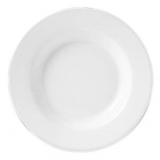 Тарелка для пасты «Монако Вайт»; фарфор; D=30см; белый