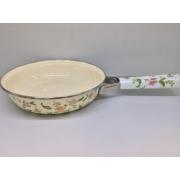Японская эмалированная сковорода 22 см, серия «Прованс»