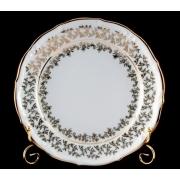Набор тарелок «Лист белый» 24 см. 6 шт.