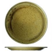 Тарелка мелкая «Кантри Стайл», фарфор, D=210,H=25мм, зелен.