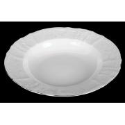 Набор тарелок 23 см «Бернадот Платина 2021» глубоких 6 шт.