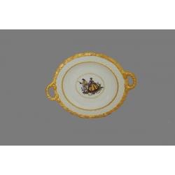 Блюдо декоративное с ручками 37х30 см «Ромео и Джульетта»