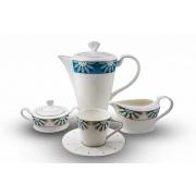 Сервиз чайный «Изуми» 17 предметов на 6 персон