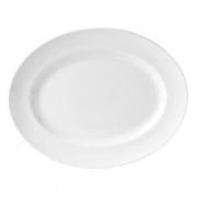 Блюдо овал «Монако вайт» 33см фарфор