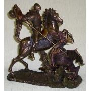Статуэтка «Святой Георгий и дракон»