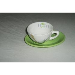 Чашка с блюдцем 0,3 л «Гибискус»
