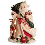 Статуэтка 16,5 см Дед Мороз с олененком