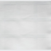 Скатерть жакк.150х350см х/б.белая