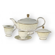Чайный сервиз 17 предметов на 6 пресон Версаль