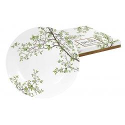Тарелка десертная Натура в подарочной упаковке