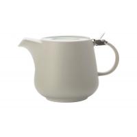 Чайник с ситечком 0.6л Оттенки (серый) в инд.упаковке