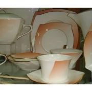 Сервиз столовый 23 пр. «Дюк персиковый»