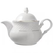 Чайник «Афродита» с зол.400мл фарфор