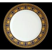 Тарелка «Медуза синяя» 22 см.