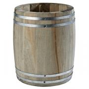 Настол. подставка для стол. приборов «Бочка» D=11.5, H=14см; древесн.