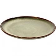 Тарелка D=13см; серый