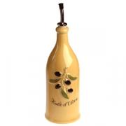 Бутылка для оливк.масла 250 мл желтая